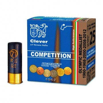 CLEVER MIRAGE T2 COMP. 12-70-7,5 24GR.BLY (25 PK.)