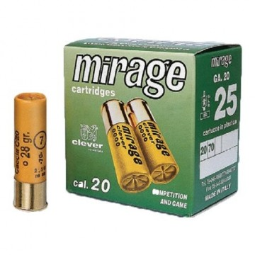 CLEVER MIRAGE T3 20-70-7 24GR. STÅL (25 PK.)